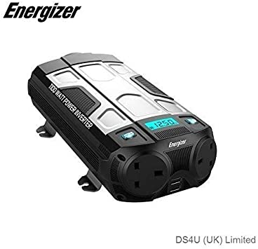 500W ENERGIZER Power Inverter 12V to 230V 50610A |Next working day to UK