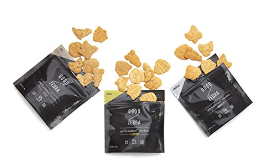 Good Zebra Protein Spirit Animal Crackers, Naturally Sweetened