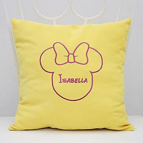Amazon Pillow Covers Decorative Minnie Mouse Ears Girl Name Interesting Minnie Mouse Decorative Pillow