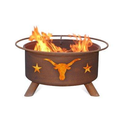 Texas Longhorn Fire Pit