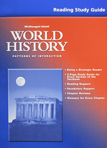 McDougal Littell World History Patterns Of Interaction Reading Unique World History Textbook Patterns Of Interaction