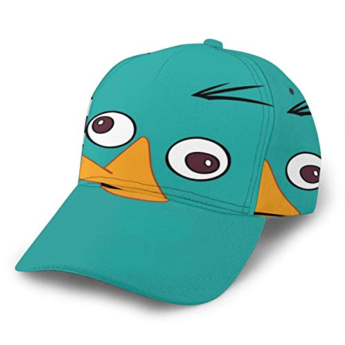 Phineas And Ferb Costumes Patterns - Unisex Baseball Caps Perry Platypus -Face