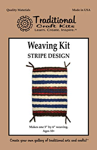 - Weaving Kit - Stripe Design