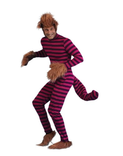 Alice in Wonderland-Cheshire Cat Adult Plus-Size Halloween Costume Size 54 -