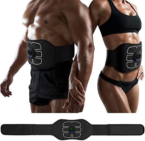 MarCoolTrip MZ ABS Stimulator,Ab Machine,Abdominal Toning Belt Workout Portable Ab Stimulator Home Office Fitness Workout Equipment for Abdomen/Arm/Leg 1