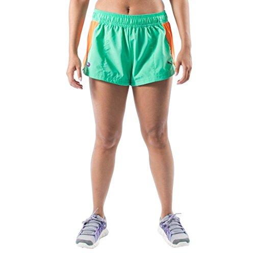 Puma Women's Faas Split Short, Aqua Green, Medium