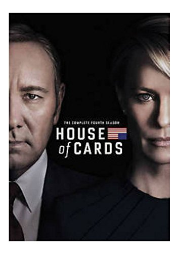 House of Cards : The Complete Fourth Season 4 (DVDS, 2016)