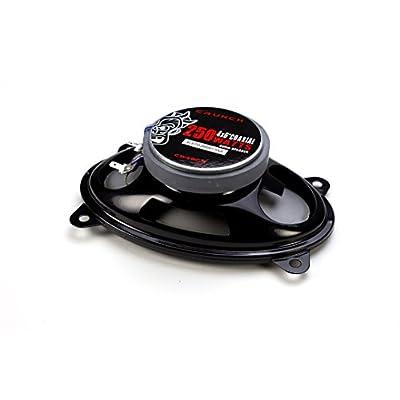 Crunch CS46CX Full Range Coaxial Car Speaker, 4