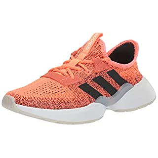 adidas Women's Mavia X Running Shoe, Signal Coral/core Black/Dash Grey, 9.5 M US