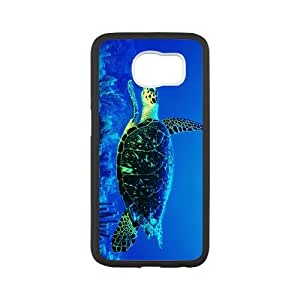 Durable Platic Case Cover for Samsung Galaxy S6-Sea Turtle Pattern Printed Cell Phones Shell