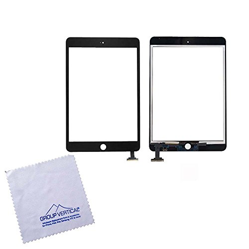 Lot of 10 Black Touch Screen Digitizer For iPad Mini A1432 A1454 A1455 A1489 A1490 A1491 (A+) by Group Vertical by Group Vertical
