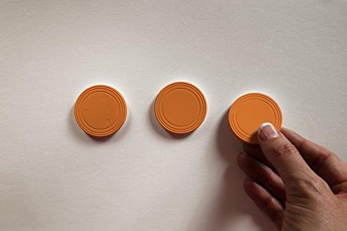 - Marketing Holders Mini/Micro Prize Drop Pucks Orange