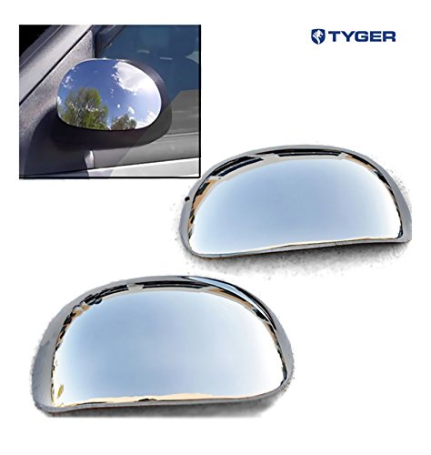 TYGER ABS Triple Chrome Plated A Pair Mirror Covers 2004 Ford F150 Heritage/97-02 Expedition/97-03 F150 (Not for Eddie Bauer Version) Cover Cap