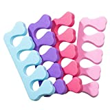 Toe Separators - 100 Pack Soft Foam Toe Cushions
