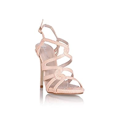 on wholesale latest detailed pictures LAFASHIONISTE SANDALE FLORENCE ROSE POUDRE - Couleur - Rose ...