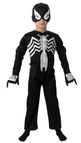 Spider-Man negro - traje de niño: Amazon.es: Juguetes y juegos