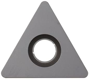 Sandvik Coromant T-MAX P Carbide Turning Insert, TNMA Style, Triangle Shape, KR Chipbreaker, GC3205 Grade, Multi-Layer Coating