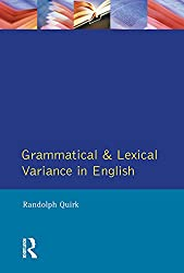 Grammatical and Lexical Variance in English