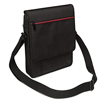 Amazon.com: V7 TD21BLK-1N Premium Messenger Bag for 10.1-Inch ...
