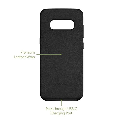 mophie charge force magnetic case & powerstation mini Made for Samsung Galaxy S8 - Black by mophie (Image #7)