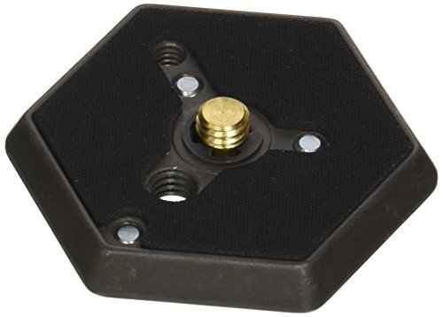 Manfrotto 130- 38 Hexagonal Quick Release Mounting Plate with 3/8-Inch Thread and Flush Mount Screw