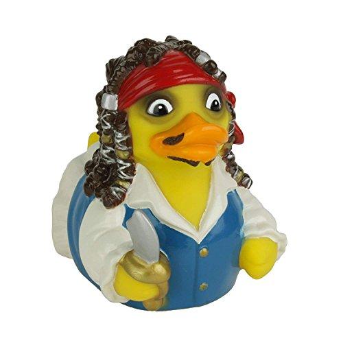 CelebriDucks Captain Quack Pirateof Quackibbean Bath Toy - Pirate Rubber Ducks