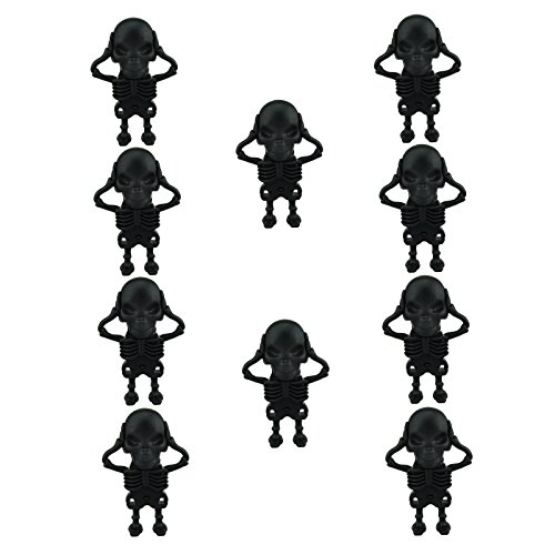 10 Pieces 64GB Halloween Gift USB Flash Drives Skeleton USB Sticks for $<!--$146.88-->