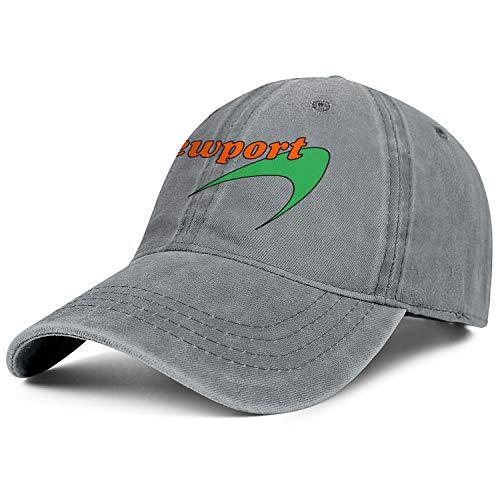 Mens Womens Newport-Cigarettes-Logo- Adjustable Classic Summer Hats Baseball Washed Dad Hat Cap ()