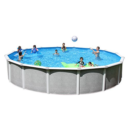 Heritage TA 1852GP-DXP Taos Complete Above Ground Pool, 18-Feet x 52-Inch by Heritage Products