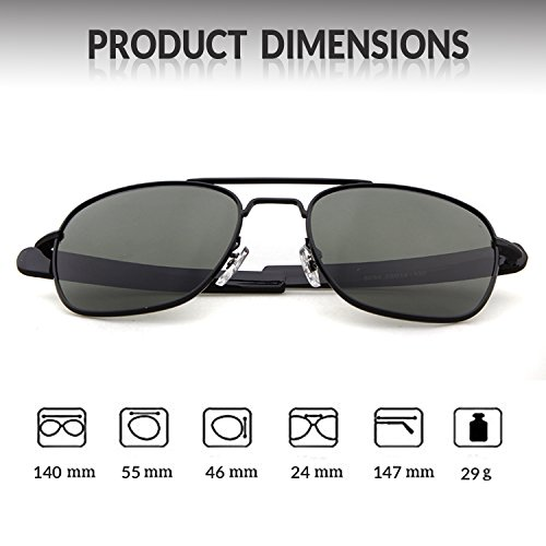 100 Goggles Lens Sports Dark Gray Polarized Outdoor ADEWU Frame for Protection Men Black UV400 Sunglasses 0E7wgq