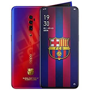 Original Oppo Reno 10x Zoom 8G+256G Mobile Phone Snapdragon 855 Android 9 Octa Core 48MP Cam OIS NFC 6.6″ AMOLED VOOC 3.0 4065mAh Support Google by-(Real Star Technology) (F.C. Barcelona)
