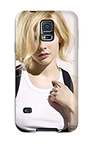 Fashionable Style YY-ONE Skin For Galaxy S5- Celebrity Avril Lavigne