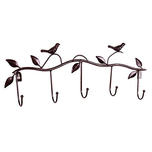 B Blesiya made of Iron, Wall-mounted Potted Plants Racks Storage Shelves,Kitchen Organizer Iron Wire - Antique Brass by B Blesiya