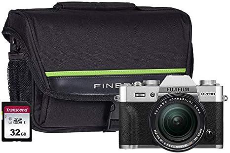 Fujifilm X-T30 - Kit de cámara (Incluye Lente XF de 18-55 mm, 32 ...