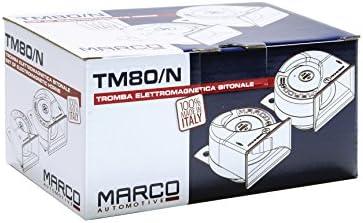 Marco 10008012 TM80//N Jeux davertisseurs /électromagn/étiques /Ø 80 mm Set de 30