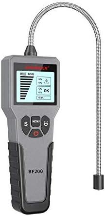 Brake Fluid Tester, High Precision Car Brake Fluid Detector, Hydraulic Fluid/Liquid/Oil Moisture Analyzer with LCD Screen Audible Alarm DOT3 DOT4 DOT5.1 Tester