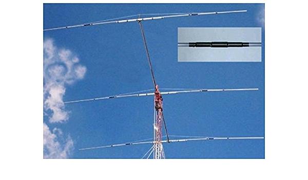 Yagi antena 3 m elementos banda 40 MHz, 7 m boom 13 8 dB PKW ...