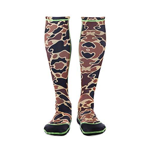 WETSOX Wader Camp Frictionless Wading Socks, - Old Camo Drake School