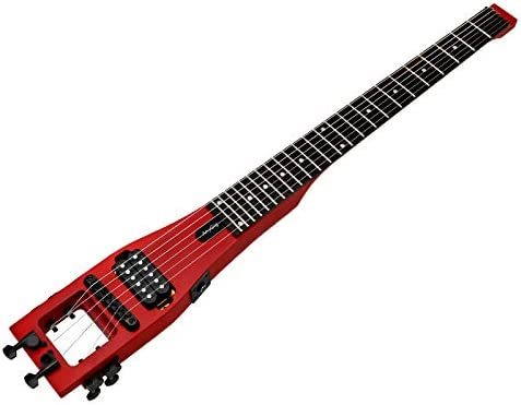 D2D Anygig Guitarra eléctrica portátil de Viaje 24 diapasón ...