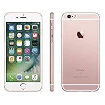 AppleApple iPhone 6s 128GB Factory Unlocked GSM 4G LTE Smartphone w/ 12MP Camera - Rose Gold (Renewed)