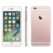 Apple iPhone 6S, GSM Unlocked, 16GB - Rose Gold (Renewed)