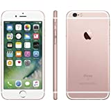 Apple iPhone 6S, GSM Unlocked, 64GB - Rose Gold (Renewed)