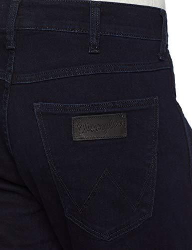 Jeans Straight 34l Uomo Back black 77d 46w Wrangler Nero Leg Greensboro qROUHwHt