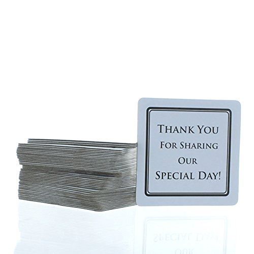 100 Wedding Thank Special Coasters product image