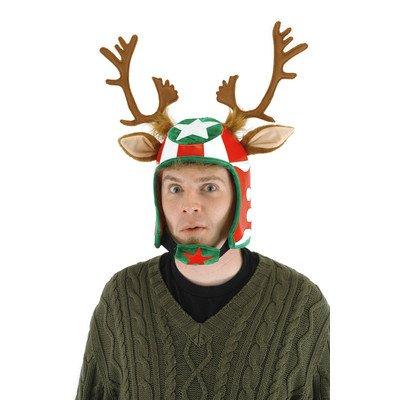 Silly Costumes Ideas (elope Racing Reindeer Helmet Hat)