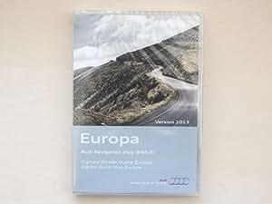 Audi - DVD con los mapas de europa (versión de 2013, para RNS-E)