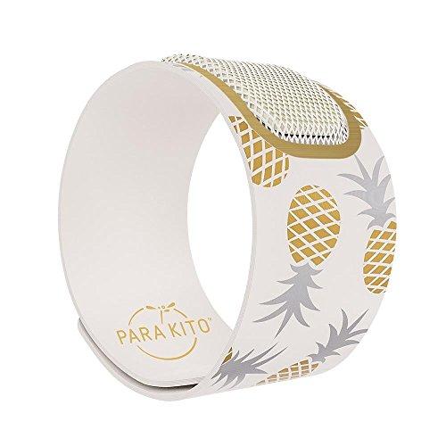 PARA'KITO Parakito, Mosquito Repellent Wristband Bracelet, Mosquito Repellent Wristband, Waterproof, Deet Free, 100% All Natural Plant Based - PARTY EDITION (bangkok) by PARA'KITO