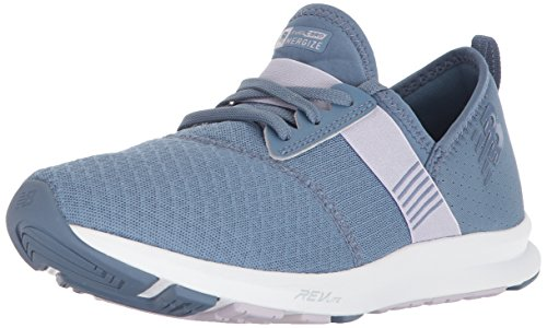(New Balance Women's Nergize v1 Fuelcore Cross Trainer, Deep Porcelain/Thistle, 6 B US)
