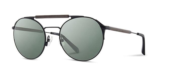 d42ecfa99d56 Shwood - Bandon Round Metal   Wood Sunglasses - Black    Walnut Polarized