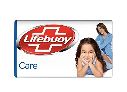 Lifebuoy Care Germ Protection Soap Bar 125 g - Pack of 6 2021 June Units/case:126, Units/bundle:6, Number_of_Items: 1
